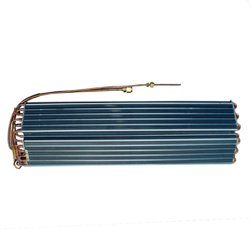 Household air conditioner evaporator